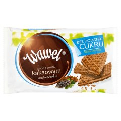 Wafle Wawel kakaowe bez cukru