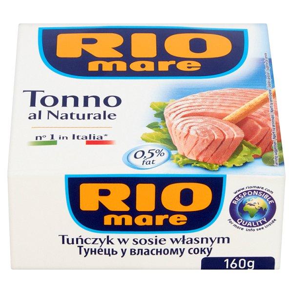 Tuńczyk Rio Mare w sosie własnym