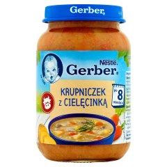 Zupka Gerber krupniczek z cielęcinką