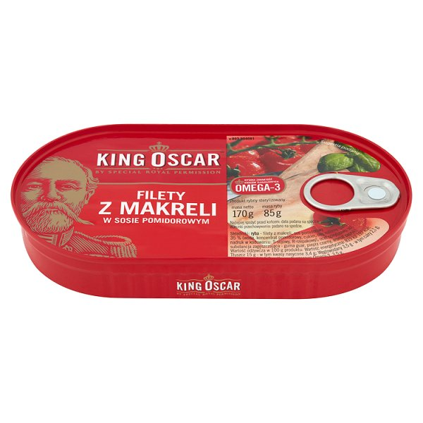 Filety z Makreli w sosie pomidorowym