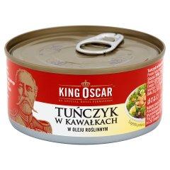 Tuńczyk King oscar w oleju w kawałkach