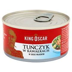 Tuńczyk king oscar w sosie własnym kawałki