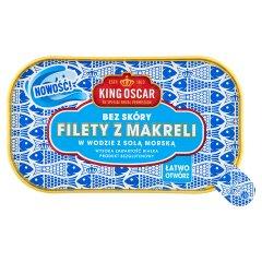 Filety z makreli w sosie własnym z solą morską