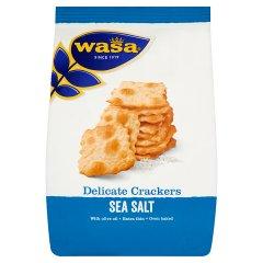 Ekstra cienkie krakersy z solą morską