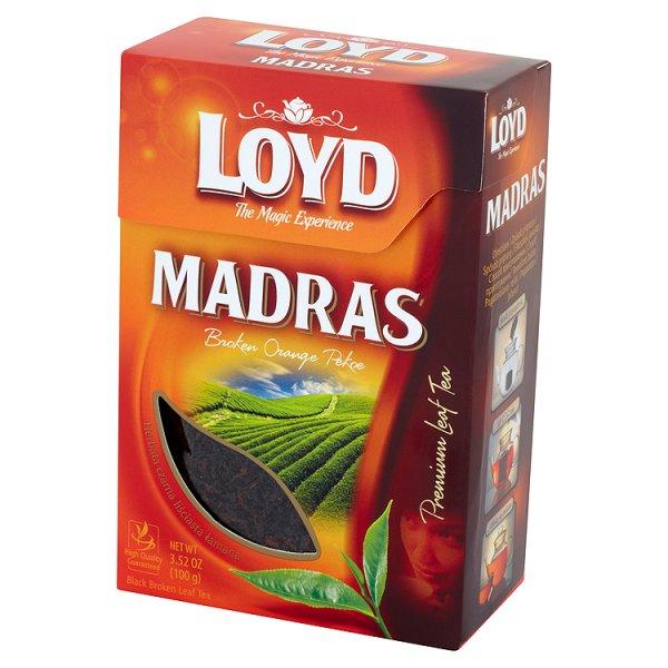 Loyd Madras Herbata czarna liściasta łamana 100 g