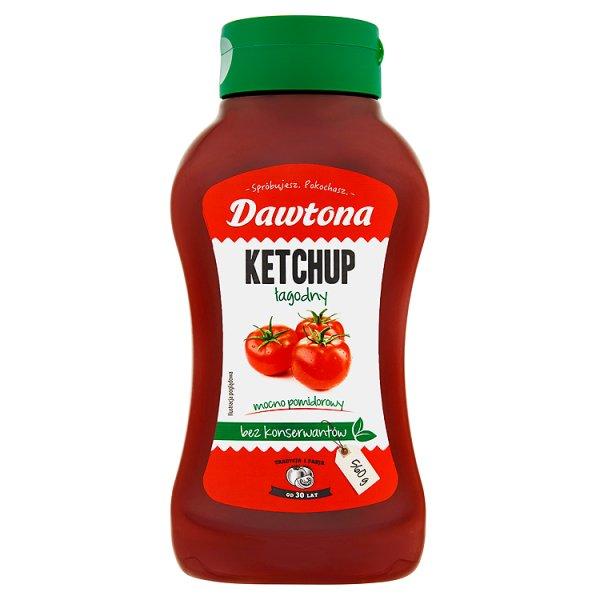 Dawtona Ketchup łagodny 560 g