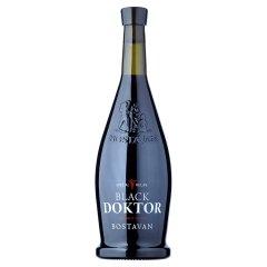 Black Doktor Bostavan Wino czerwone półsłodkie mołdawskie 750 ml