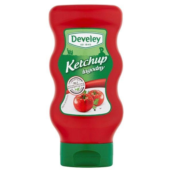 Ketchup Develey łagodny