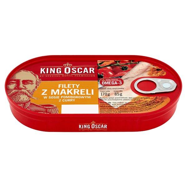 Filet z Makreli z curry