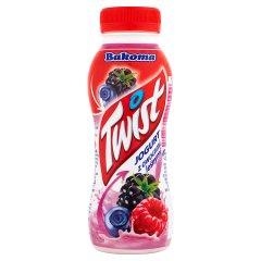 Jogurt Bakoma Twist owoce leśne