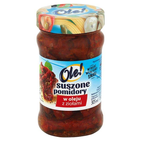 Suszone pomidory Ole! z ziołami
