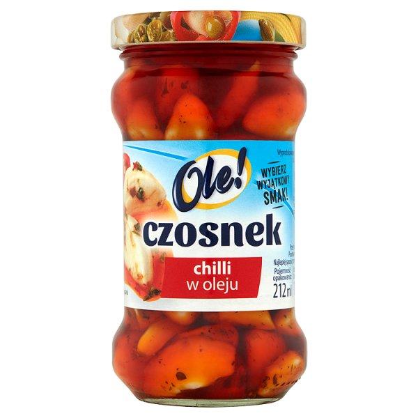 Ole! Czosnek chilli w oleju 190 g