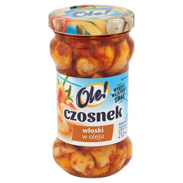 Czosnek Ole! włoski w w oleju