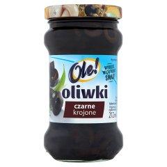 Oliwki czarne Ole! krojone,  w zalewie