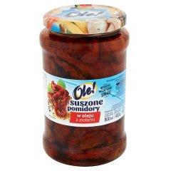 Suszone pomidory OLE! w oleju z ziołami