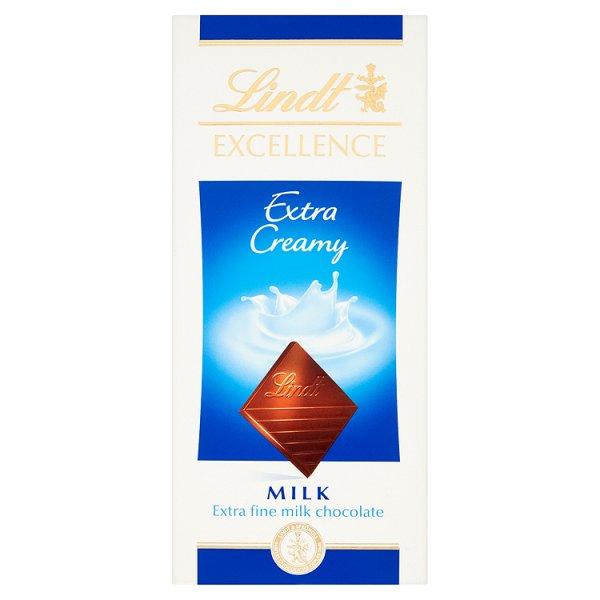 Czekolada Lindt Excellence milk