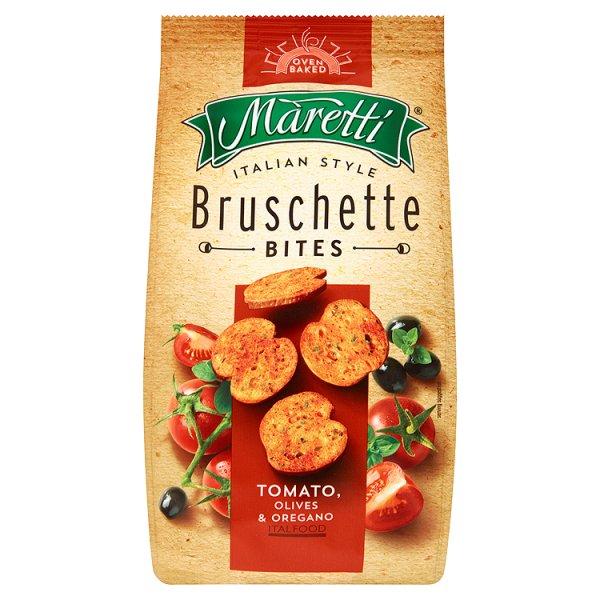 Grzanki Bruschette Maretti pomidory, oliwki i oregano