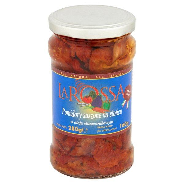 La Rossa Pomidory suszone na słońcu w oleju słonecznikowym 280 g