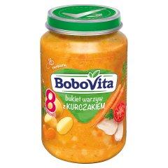 Obiadek Bobovita warzywa ze złotym kurczakiem