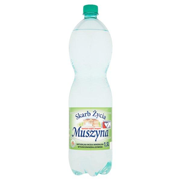 Woda mineralna Muszyna Skarb Życia gazowana