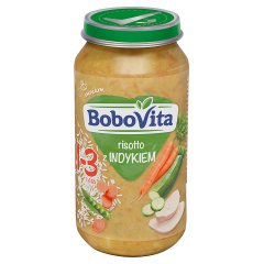 BoboVita Risotto z indykiem 1-3 lata 250 g