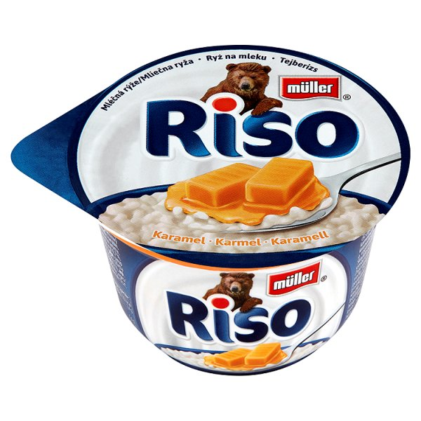Deser Riso z karmelem