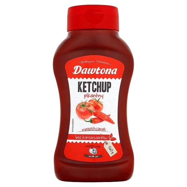 Dawtona Ketchup pikantny 560 g