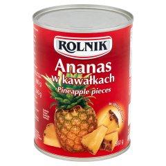 Ananas w kawałkach Rolnik