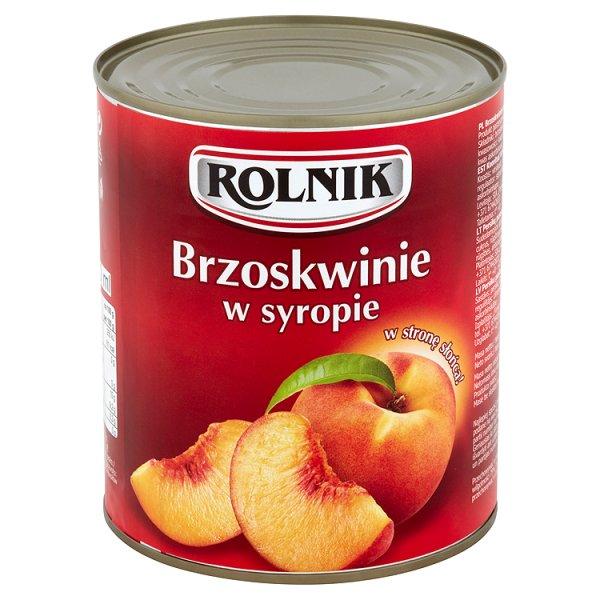 Brzoskwinie w syropie Rolnik