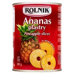 Ananas plastry Rolnik