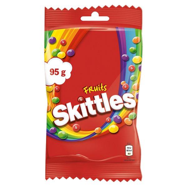 Skittles Fruits Cukierki do żucia 95 g