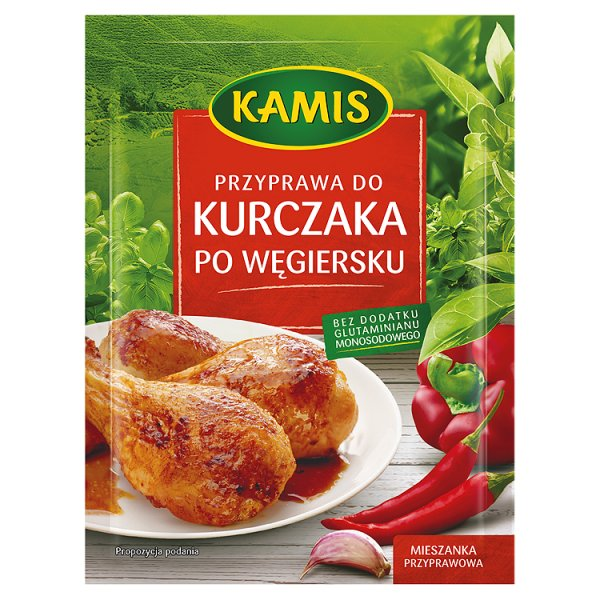 Przyprawa Kamis do kurczaka po węgiersku