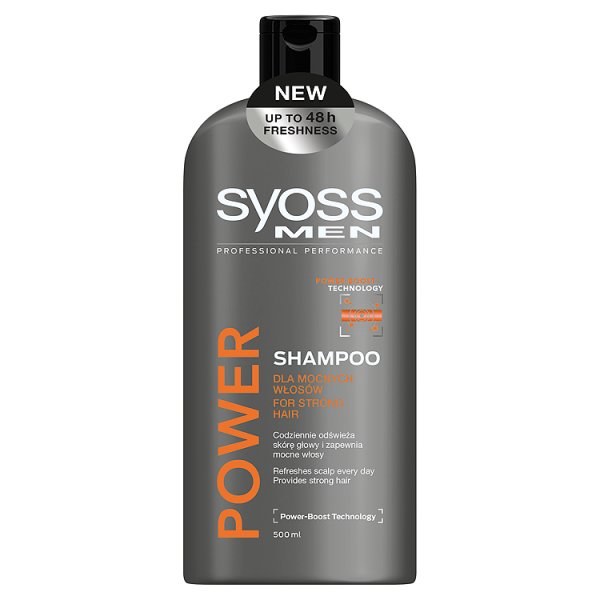 Szampon Syoss Men Power & Strenght