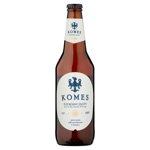 Piwo komes potrójny butelka