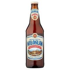Piwo Miłosław niefiltrowany