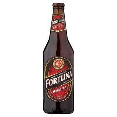 Piwo fortuna wiśniowa butelka