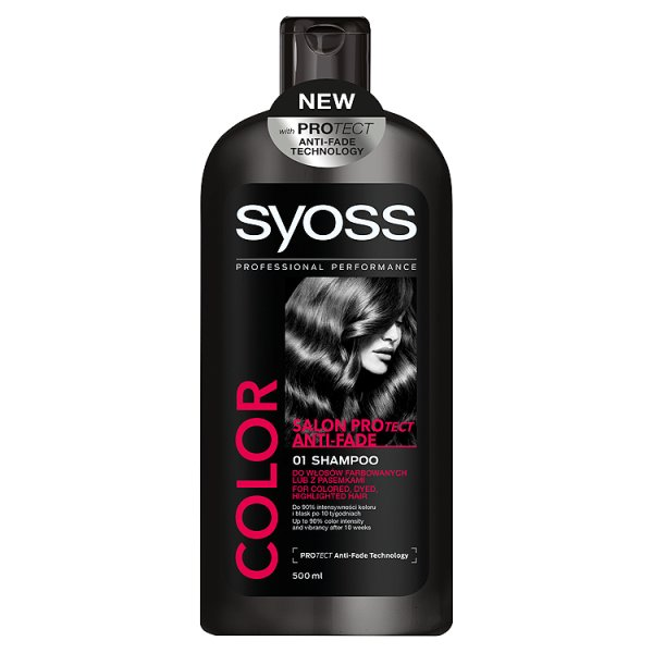Syoss Color Salon Protect Anti-Fade Szampon 500 ml