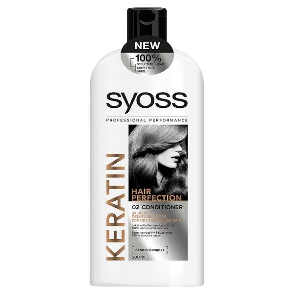 Syoss balsam do włosów keratin