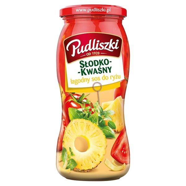 Sos Pudliszki słodko - kwaśny łagodny