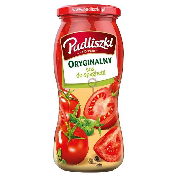 Sos Pudliszki spaghetti oryginalny