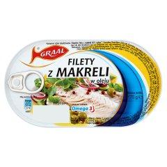 Filet z makreli w oleju Graal
