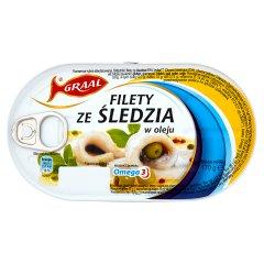 Filety śledziowe w oleju Graal