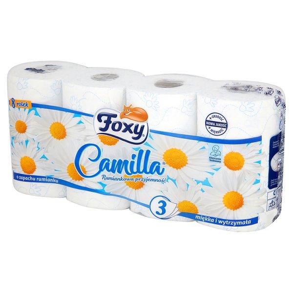 Papier toaletowy Foxy camilla rumiankowy /8rolek