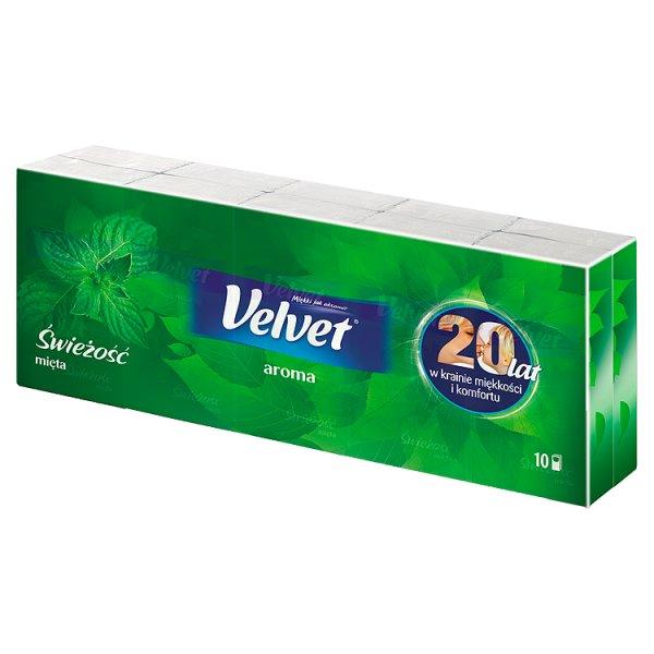 Chusteczki higieniczne Velvet świeżość /10*9szt