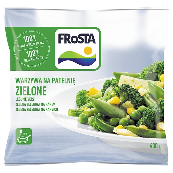 Warzywa na patelnie zielone Frosta