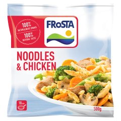 Danie Noodles and Chicken Kurczak po szwajcarsku Frosta