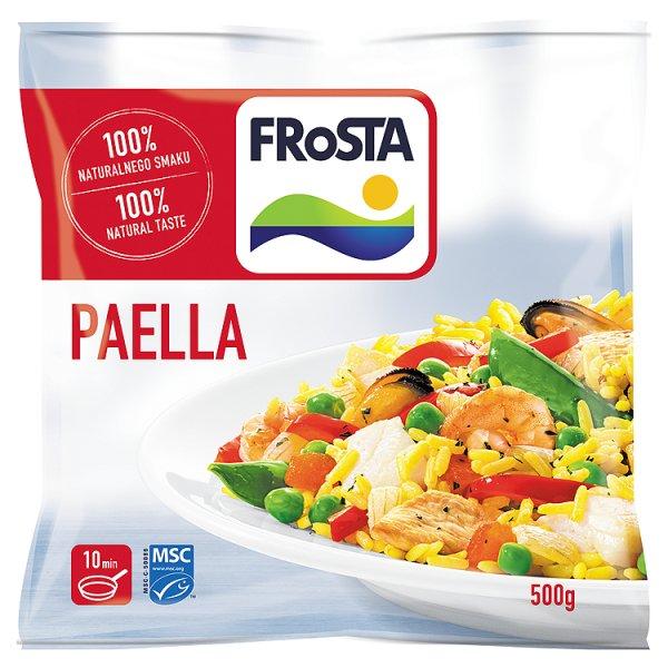 Danie Paella tradycyjne danie hiszpańskie Frosta
