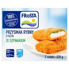 Przysmak rybny ze szpinakiem Frosta