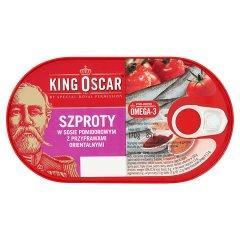 Szproty King Oscar z przyprawami orientalnymi