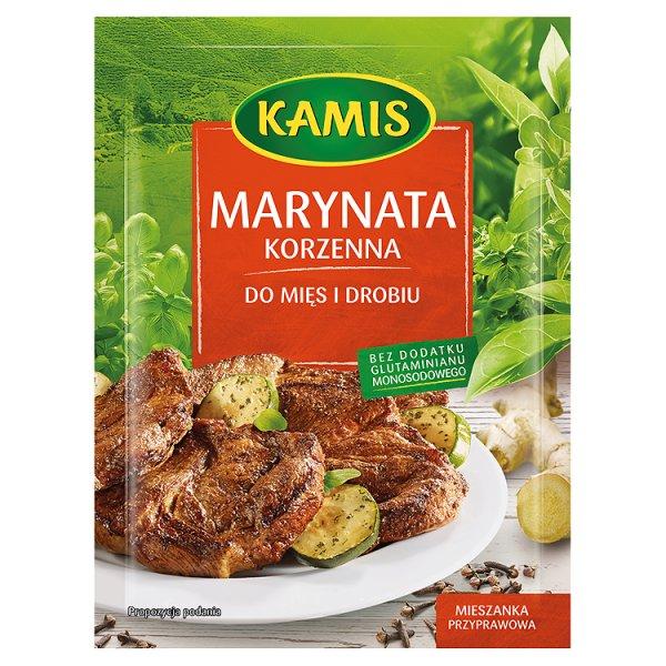 Marynata Kamis korzenna do mięs i drobiu